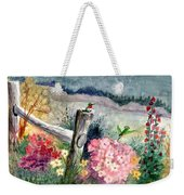 Hummingbird Haven Weekender Tote Bag