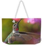 Hummingbird Intensity Weekender Tote Bag