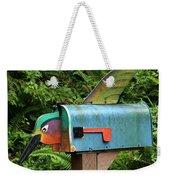 Hummingbird Mailbox Weekender Tote Bag