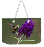 Hummingbird Moth Iv Weekender Tote Bag