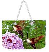 Hummingbird Moths Weekender Tote Bag