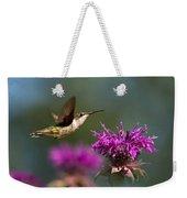 Hummingbird Moving Along Weekender Tote Bag