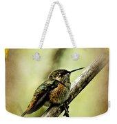 Hummingbird Noveau Weekender Tote Bag