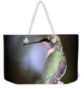 Hummingbird Photo - Side View Weekender Tote Bag