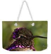 Hummingbird Portrait Weekender Tote Bag