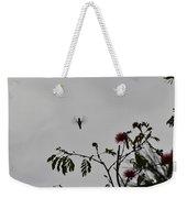 Hummingbird Silhouette I Weekender Tote Bag