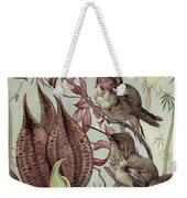 Hummingbirds And Orchids Weekender Tote Bag
