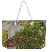 Hummingbirds In Spring Weekender Tote Bag