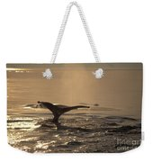 Humpback Whale Feeding Weekender Tote Bag