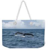Humpback Whale Fin Weekender Tote Bag