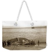 Humpback Whale On A Monterey Beach California  Circa 1896. Weekender Tote Bag