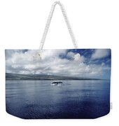 Humpback Whale Tail Slap Hawaii Weekender Tote Bag