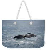 Humpback Whale Tail Weekender Tote Bag