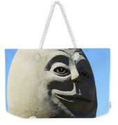 Humpty Dumpty Sand Sculpture Weekender Tote Bag by Bob Christopher