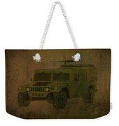 Humvee Midnight Desert  Weekender Tote Bag