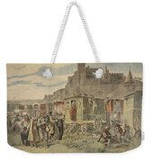 Hungarian Gypsies Outside Carcassonne Weekender Tote Bag