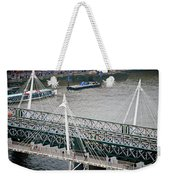Hungerford Bridge Weekender Tote Bag