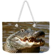 Hungry Alligator Weekender Tote Bag