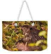 Hungry Beaver Weekender Tote Bag