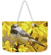Hungry Bird Weekender Tote Bag