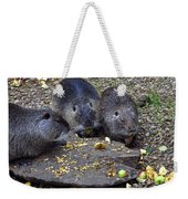 Hungry Critters Weekender Tote Bag
