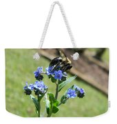 Hungry For Pollen Weekender Tote Bag