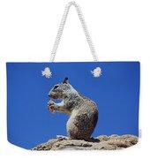 Hungry Ground Squirrel Weekender Tote Bag