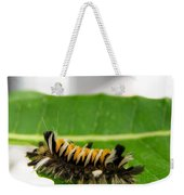 Hungry Hairy Caterpillar Weekender Tote Bag