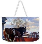 Hungry Horses Weekender Tote Bag