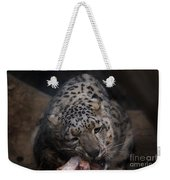 Hungry Leopard Weekender Tote Bag