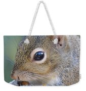 Hungry Squirrel Weekender Tote Bag