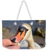 Hungry Swan Weekender Tote Bag