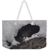 Hunkered Down For The Storm Weekender Tote Bag