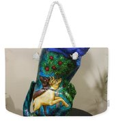 Hunt For The Unicorn On A Full Moon Weekender Tote Bag by Genevieve Esson