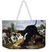 Hunted Bull Weekender Tote Bag