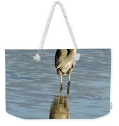 Hunting Great Blue Heron Weekender Tote Bag