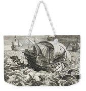 Hunting Sea Creatures Weekender Tote Bag