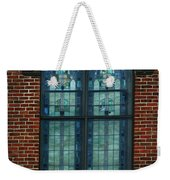Stained Glass Arch Window Weekender Tote Bag