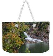 Hurricane Falls Weekender Tote Bag