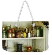 Hurricane Lamp In Pantry Weekender Tote Bag