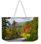 Hwy 281 In The Fall  Weekender Tote Bag
