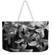 Hyacinth In Black And White Weekender Tote Bag