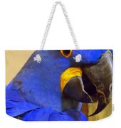 Hyacinth Macaw Portrait Weekender Tote Bag