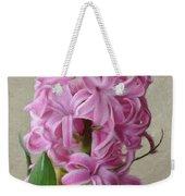 Hyacinth Pink Weekender Tote Bag