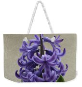 Hyacinth Purple Weekender Tote Bag
