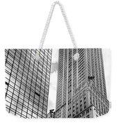 Hyatt And Chrysler Weekender Tote Bag