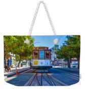 Hyde Street Trolley Weekender Tote Bag
