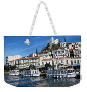 Greek Island Weekender Tote Bag