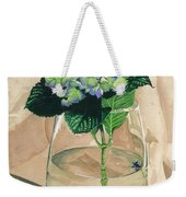 Hydrangea Blossom Weekender Tote Bag