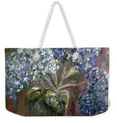 Hydrangea Bouquet At Dawn Weekender Tote Bag